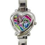 heart watch - Heart Italian Charm Watch