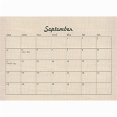 Family/friends Holidays Wall Calendar 8 5x6 By Mikki   Wall Calendar 8 5  X 6    Iv571wf60rrf   Www Artscow Com Sep 2018