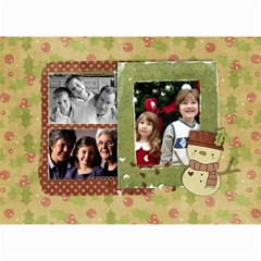 Family/friends Holidays Wall Calendar 8 5x6 By Mikki   Wall Calendar 8 5  X 6    Iv571wf60rrf   Www Artscow Com Month
