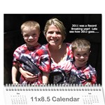 Calendar Mom D 2012 - Wall Calendar 11  x 8.5  (12-Months)