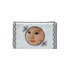 Dainty Lace Cosmetic Bag Small By Purplekiss   Cosmetic Bag (small)   6u9rkbmqm2ul   Www Artscow Com Back