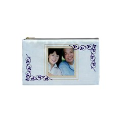 Simply Jessie Cosmetic Bag Small By Purplekiss   Cosmetic Bag (small)   Jxdg0ml6jz8c   Www Artscow Com Front