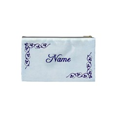 Simply Jessie Cosmetic Bag Small By Purplekiss   Cosmetic Bag (small)   Jxdg0ml6jz8c   Www Artscow Com Back