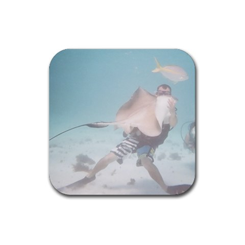 David Coaster By Christine   Rubber Coaster (square)   5d08kcvd7hb2   Www Artscow Com Front