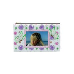 Butterfly (small) Cosmetic Bag By Deborah   Cosmetic Bag (small)   Ng0ofqhhxrsn   Www Artscow Com Front