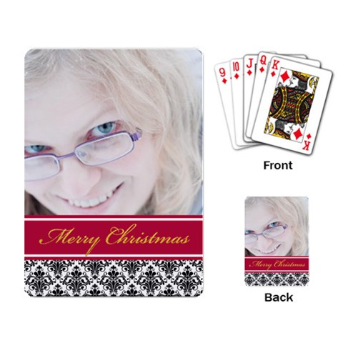 Xmas By May   Playing Cards Single Design   Nfjed1u8xnav   Www Artscow Com Back