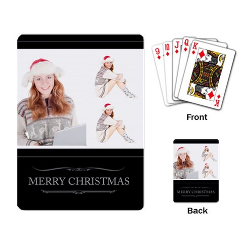 Xmas By May   Playing Cards Single Design   Co39a7nrb734   Www Artscow Com Back
