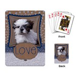 Craft & Glitter/love-playing cards - Playing Cards Single Design