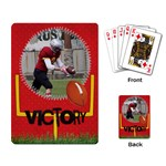 Football-playing cards - Playing Cards Single Design