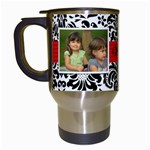 mimis mug - Travel Mug (White)
