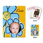 My Little Flower Playing Cards - Playing Cards Single Design
