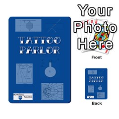 Tattoo Parlor Cards By Sarah Heile   Playing Cards 54 Designs   Nvecs0bku6d7   Www Artscow Com Back