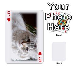 Grandpa Family Cards By Ashley   Playing Cards 54 Designs   Qfq2ghmecupy   Www Artscow Com Front - Heart5