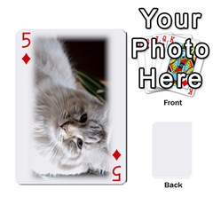 Grandpa Family Cards By Ashley   Playing Cards 54 Designs   Qfq2ghmecupy   Www Artscow Com Front - Diamond5