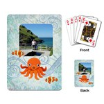 Marina Octopssy Rectangle Playing Cards - Playing Cards Single Design