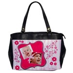 Little Princess - Oversize Office Handbag (one side)