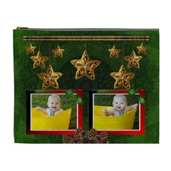 Christmas Memories Xl Cosmetic Bag By Lil    Cosmetic Bag (xl)   0immhaj4ije0   Www Artscow Com Front