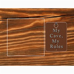 Man Cave 12 Month Calendar By Lil    Wall Calendar 11  X 8 5  (12 Months)   3ex76paepurb   Www Artscow Com Month