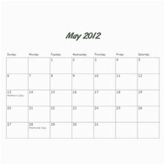 Kowallis By Alisa   Wall Calendar 11  X 8 5  (18 Months)   G835sex7d1y4   Www Artscow Com May 2012