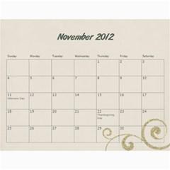 Kowallis By Alisa   Wall Calendar 11  X 8 5  (18 Months)   G835sex7d1y4   Www Artscow Com Nov 2012