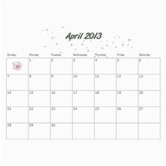 Kowallis By Alisa   Wall Calendar 11  X 8 5  (18 Months)   G835sex7d1y4   Www Artscow Com Apr 2013
