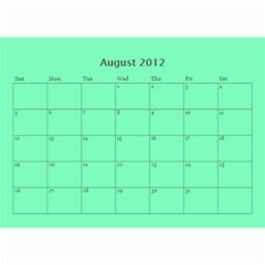 2012 Full Photo   All Sage By Jody Odette   Wall Calendar 8 5  X 6    X9gj1nis7j7x   Www Artscow Com Aug 2012