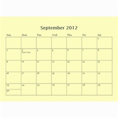 2012 Full Photo   All Sage By Jody Odette   Wall Calendar 8 5  X 6    X9gj1nis7j7x   Www Artscow Com Sep 2012