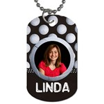 Volleyball- dog tag (2 sides) - Dog Tag (Two Sides)
