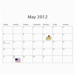 Opa And Oma Calendar By Heidi Groth   Wall Calendar 11  X 8 5  (12 Months)   7z0gsvdbj1r5   Www Artscow Com May 2012