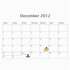 Opa And Oma Calendar By Heidi Groth   Wall Calendar 11  X 8 5  (12 Months)   7z0gsvdbj1r5   Www Artscow Com Dec 2012
