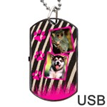 Jungle usb 2 sides - Dog Tag USB Flash (Two Sides)