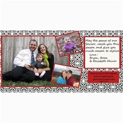 2011 Christmas Card By Breea   4  X 8  Photo Cards   Vlsfy8k6aj4v   Www Artscow Com 8 x4 Photo Card - 48