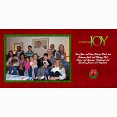 2011 Short Xmas Card   Version 2 By Tammy Baker   4  X 8  Photo Cards   138aay74rv12   Www Artscow Com 8 x4 Photo Card - 8