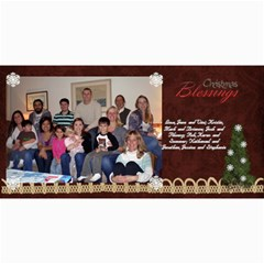 2011 Short Xmas Card   Version 3 By Tammy Baker   4  X 8  Photo Cards   Kh9prpvlsr9c   Www Artscow Com 8 x4 Photo Card - 1