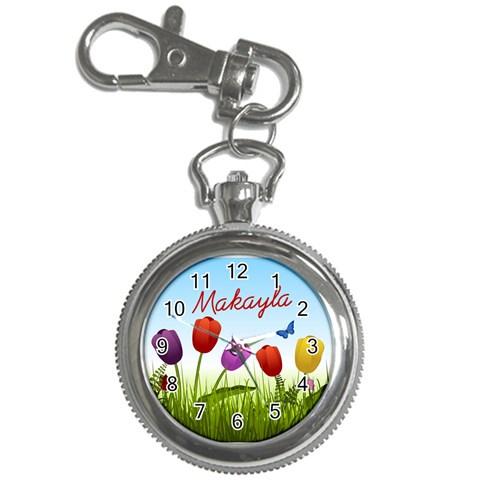 Makayla6 By Angela Christensen   Key Chain Watch   X77ldfzf757x   Www Artscow Com Front