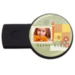 happy kids - USB Flash Drive Round (1 GB)