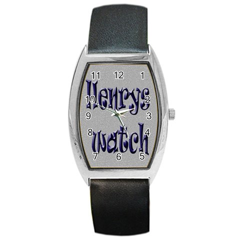 Henry Barel Watch By Claire Mcallen   Barrel Style Metal Watch   Chpx96czt3oz   Www Artscow Com Front