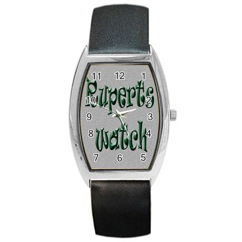 Rupert By Claire Mcallen   Barrel Style Metal Watch   P97dnn1gfxop   Www Artscow Com Front