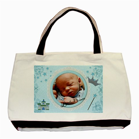 Little Prince Classic Tote Bag (1 Sided) By Lil    Basic Tote Bag   Tkacey0bjx1s   Www Artscow Com Front