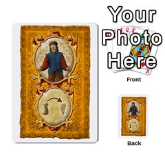 Notre Dame, Cards And Messages For 3 More Players By Peter Dahlstrom   Multi Purpose Cards (rectangle)   6m5kprm5rmdn   Www Artscow Com Front 24