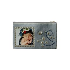 Precious Pearl Coin Purse By Amarie   Cosmetic Bag (small)   C4ueine7szik   Www Artscow Com Back
