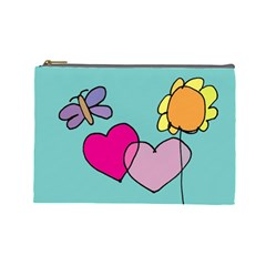 Kids Art Whimsy Bag By Cheng2   Cosmetic Bag (large)   Munuriuckqs4   Www Artscow Com Front