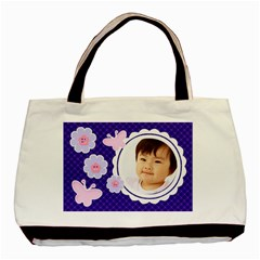 Purple Jenna Tote Bag By Purplekiss   Basic Tote Bag (two Sides)   Ln6139s5qd4f   Www Artscow Com Back