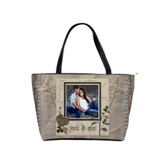 You And Me Classic Shoulder Handbag By Lil    Classic Shoulder Handbag   Gt2gl01xrzkm   Www Artscow Com Front