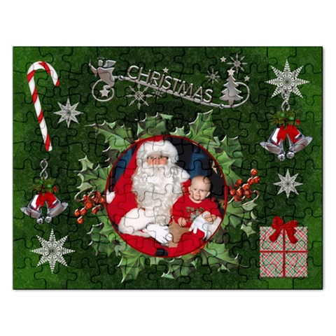 Christmas Rectangle Jigsaw Puzzle By Lil    Jigsaw Puzzle (rectangular)   Kw99yfbr0x8e   Www Artscow Com Front