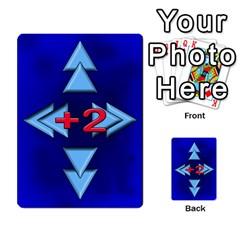 Jellydrifters1 By Pierre   Multi Purpose Cards (rectangle)   Ij0v9z2zgpad   Www Artscow Com Front 54