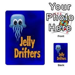 Jellydrifters1 By Pierre   Multi Purpose Cards (rectangle)   Ij0v9z2zgpad   Www Artscow Com Back 30