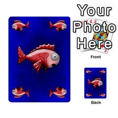 Jellydrifters1 By Pierre   Multi Purpose Cards (rectangle)   Ij0v9z2zgpad   Www Artscow Com Front 46