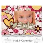 2012cal - Wall Calendar 11  x 8.5  (12-Months)