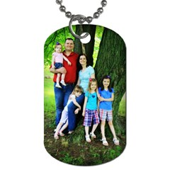Parkinson Tags By Stephanie   Dog Tag (two Sides)   3l61kybk96yl   Www Artscow Com Front